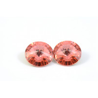 RIVOLI SWAROVSKI (1122) 12MM ROSE PEACH*